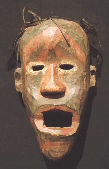 masque africain tanzanie
